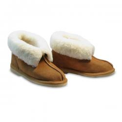 Chic Empire Aussie Slippers - Chestnut