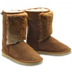 Chic Empire Classic 3/4 Royal Roo Sheepskin Boots - Chestnut