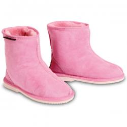 Chic Empire Rip Kids Sheepskin Boots - Candy Pink